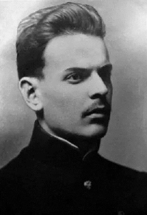 Константин Паустовский в молодые годы.