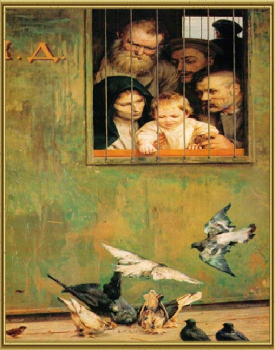 Всюду жизнь. (1888 год). Автор: Николай Ярошенко.
