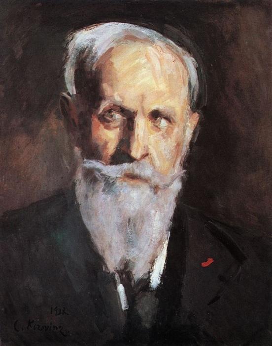 Автопортрет. 1938. Автор Константин Коровин.