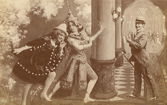 Клео де Мерод в сценическом образе.