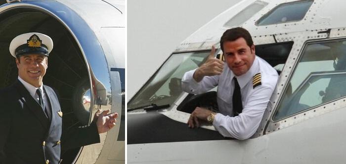 Самолеты - страсть Джона Траволты.