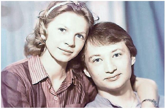 Юрий Гальцев с Ириной Ракшиной.
