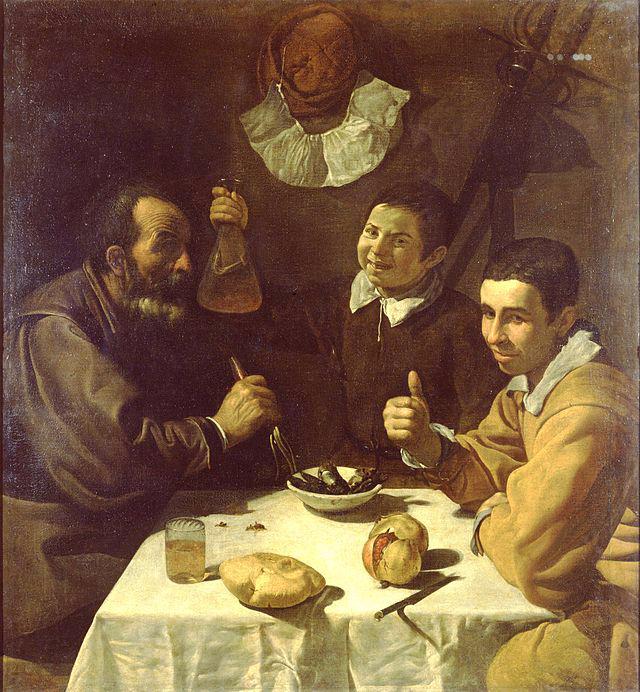 «Завтрак». (1617—1618). Автор: Диего Веласкес.
