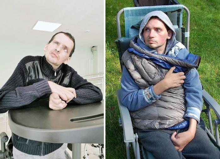 Алексей Янин после инсульта.