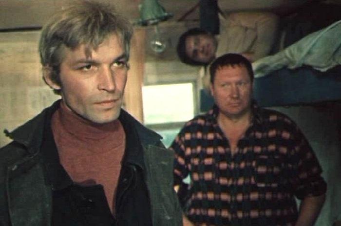 Кадр из кинофильма «На таежных ветрах». (1979).