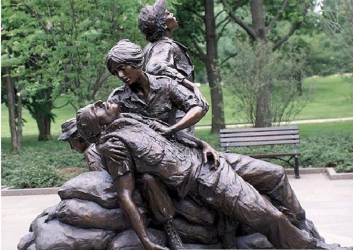 Мемориал женщин Вьетнама.  Автор: Гленна Гудакр.