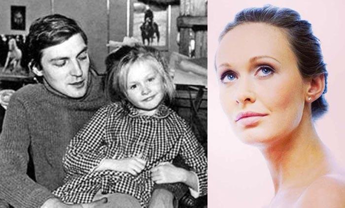 Полина Невзорова с отцом Александром Невзоровым.