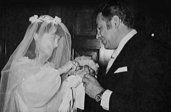 Свадьба Лотяну и Беляевой.
