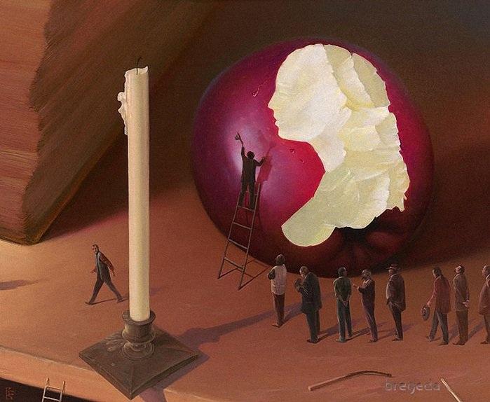 Метареализм от Виктора Брегеды.