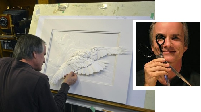 Канадский скульптор - Келвин Николлс.