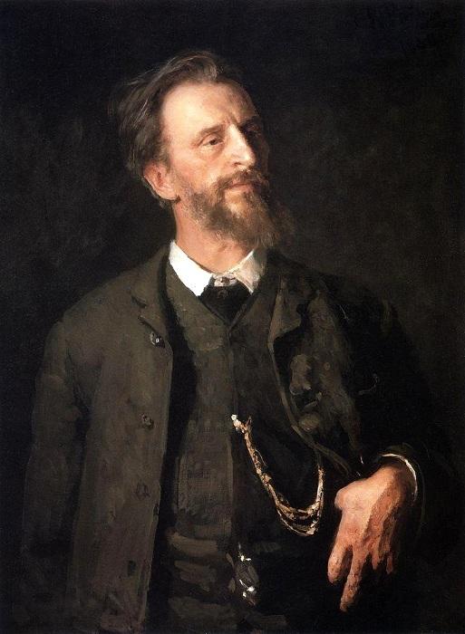 Портрет ГригорияМясоедова. Автор Илья Репин.