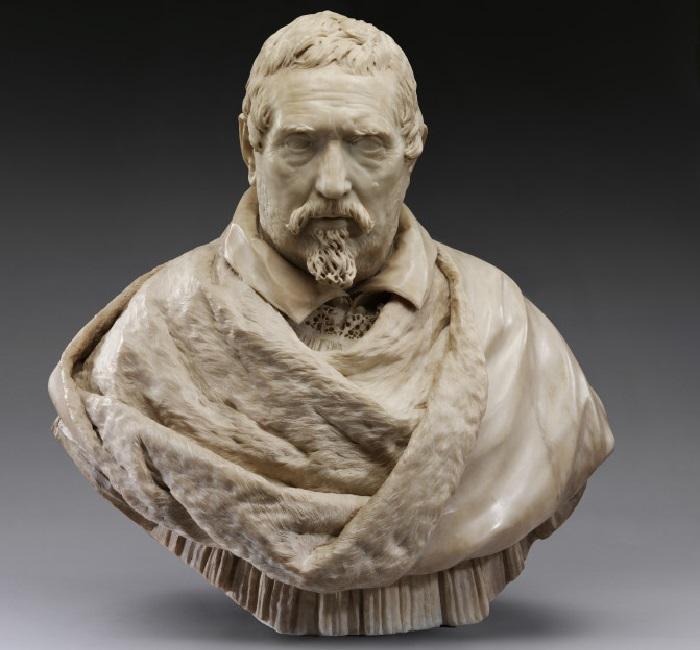 Бюст итальянского поэта Франческо Браччолини. Скульптор: Джулиано Финелли.
