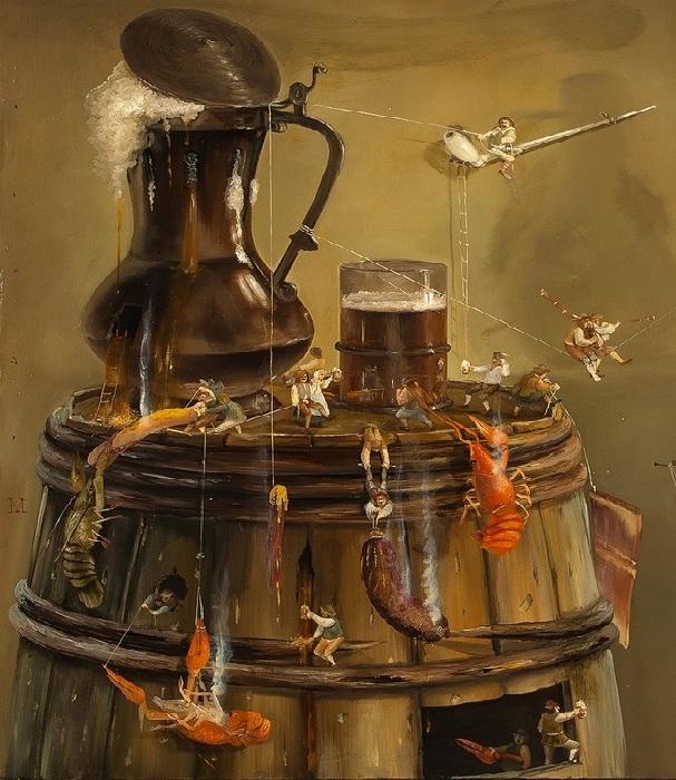 «Голландский сюрреализм» от Валерия Багаева.