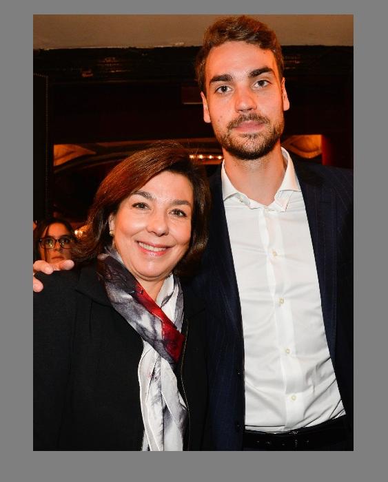 Кароль Амьель с сыном Валентином.