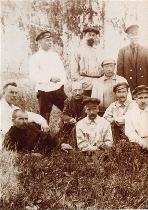 Палехские художники. Фото: 1930 год.