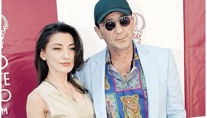 Григорий Лепс с дочерью Ингой.