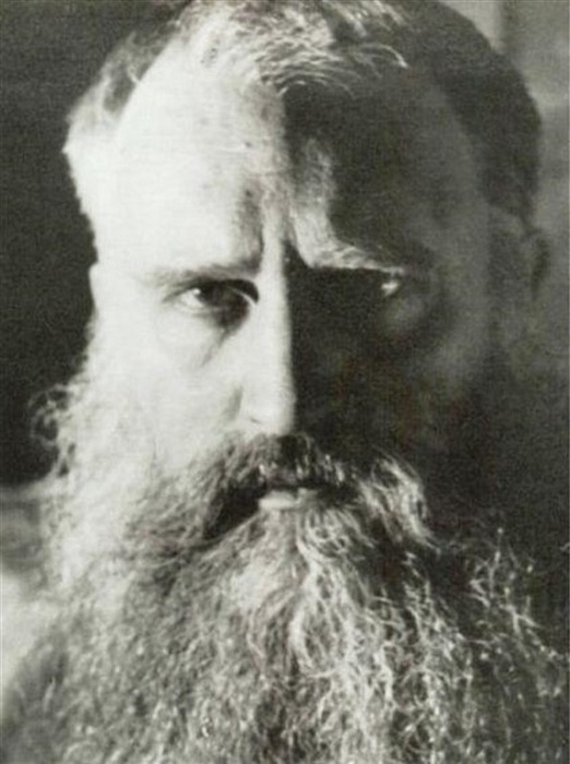 Русский художник-эмигрант Иван Мясоедов.