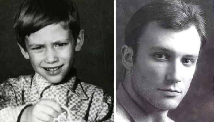 Константин Соловьев в детские и юношеские годы.
