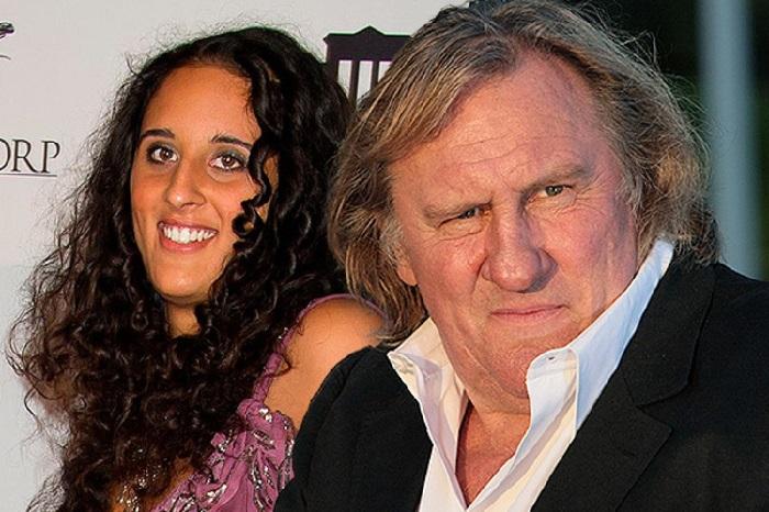 Роксана Депардье - дочь сенегальской модели Карин Силлы с отцом Жераром Депардье.