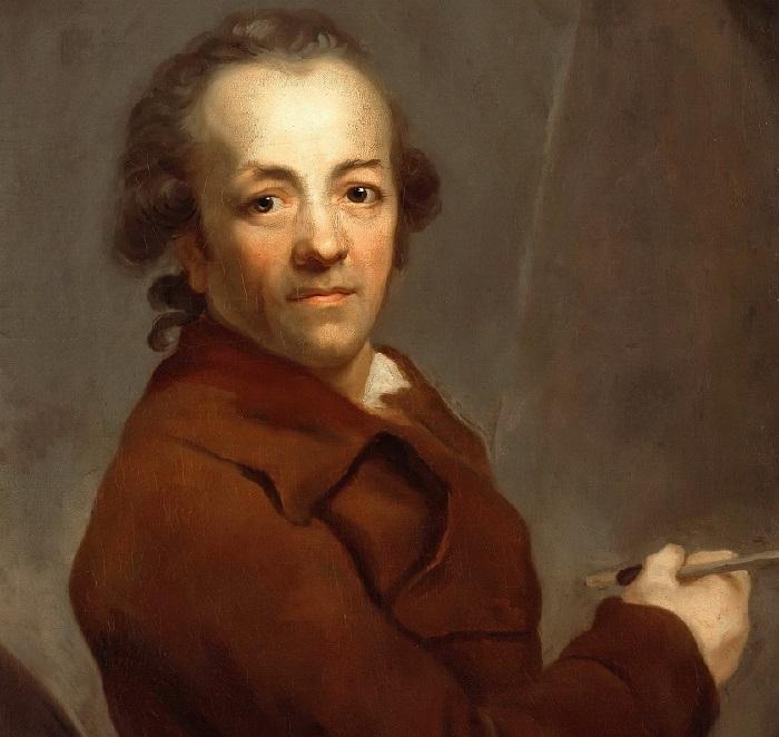Графф, Антон (1736-1813) - Автопортрет.