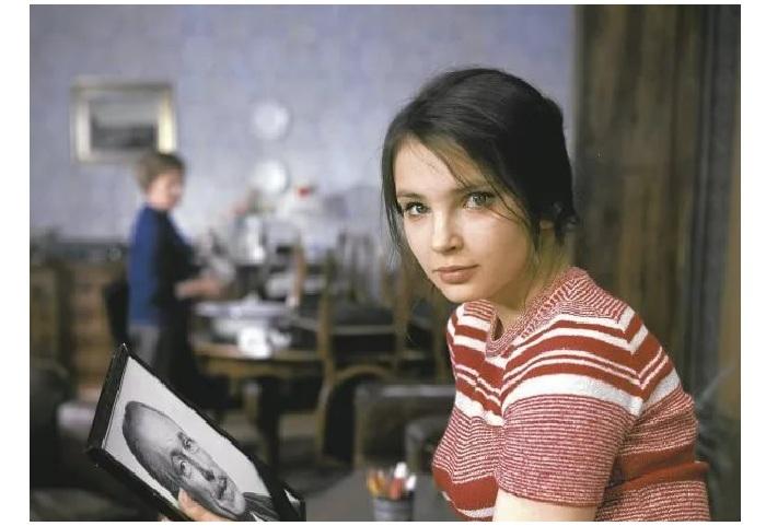 Анна Дымна в юные годы.