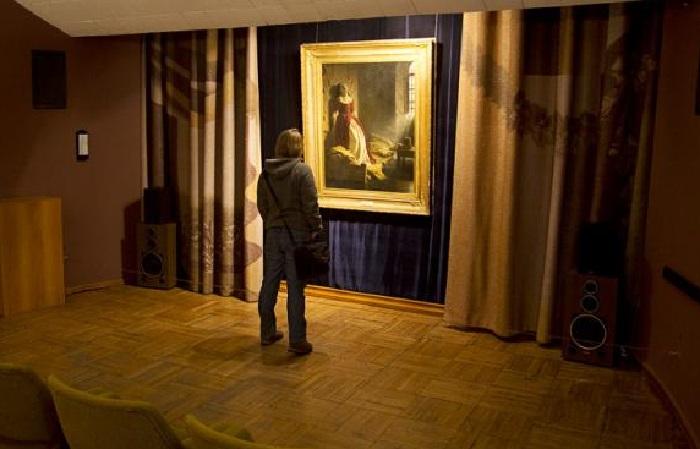 Демонстрационный зал Музея одной картины.