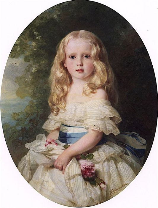 Луиза фон Боден, принцесса Бирон Курляндская. Автор: Франц Ксавер Винтерхальтер.