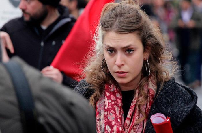 Младшая дочь Мишель Бачелет София Хенрикес / Фото: www.eldinamo.cl