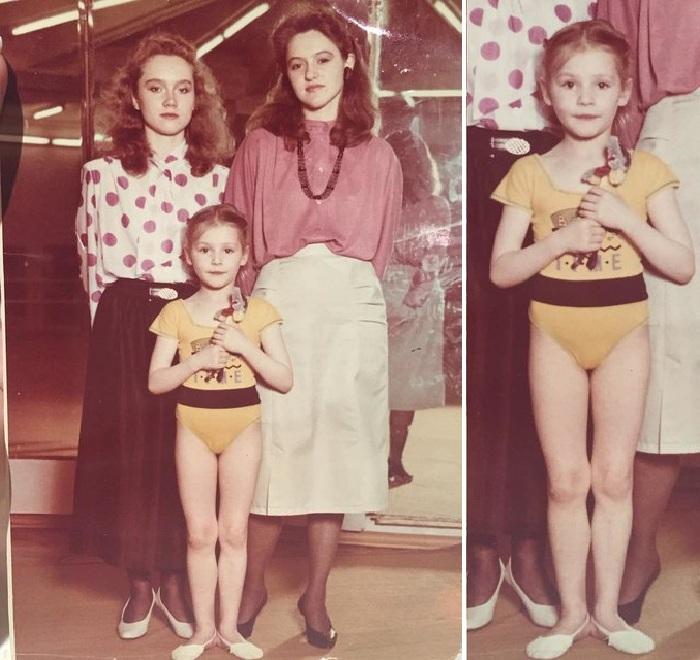 Маша Кожевникова в детские годы. Фото: Из личного архива.