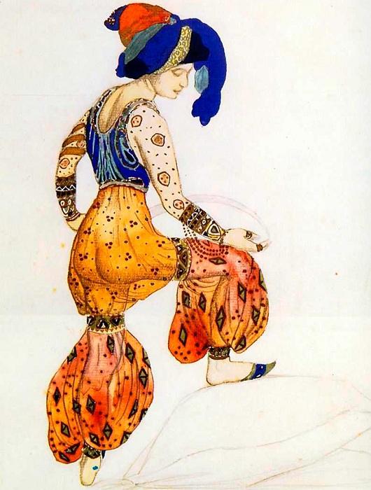 Театральные костюмы Льва Бакста.