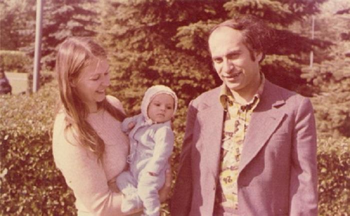 Геля, Михаил и Жанна Таль.