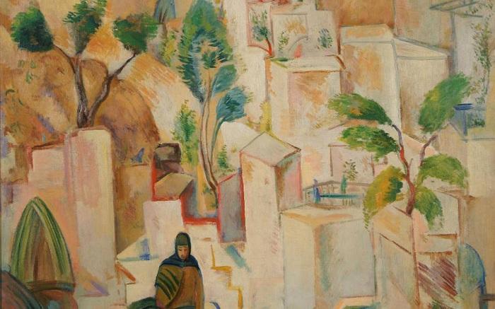 «Восточный город. Бухара». 1928г. П.Кузнецов