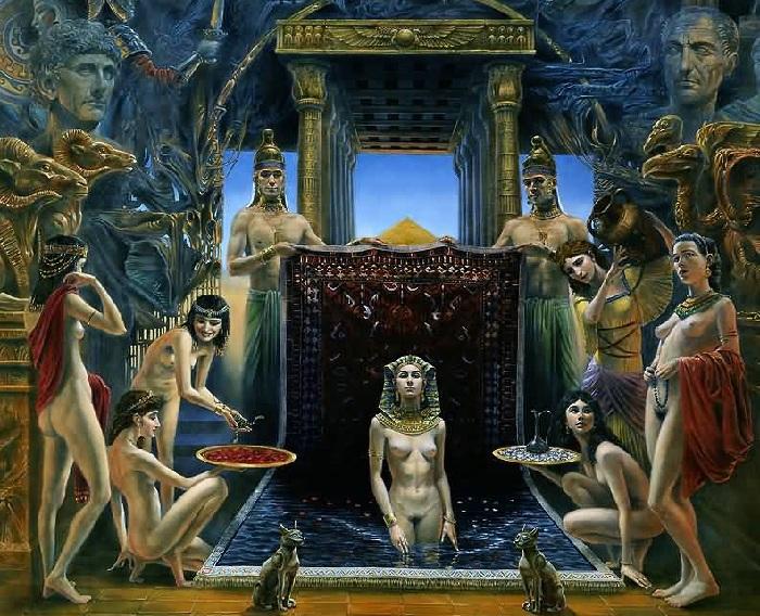 Клеопатра.Театр абсурда Майкла Шеваля.