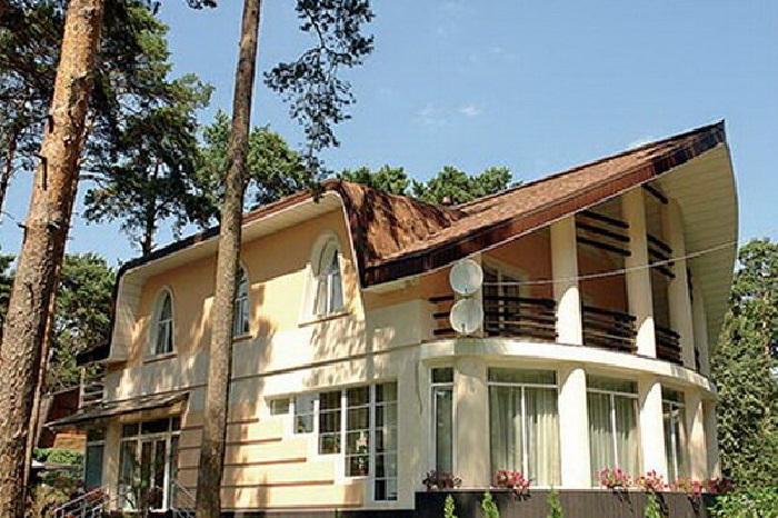 Загородный дом Алексея Глызина.