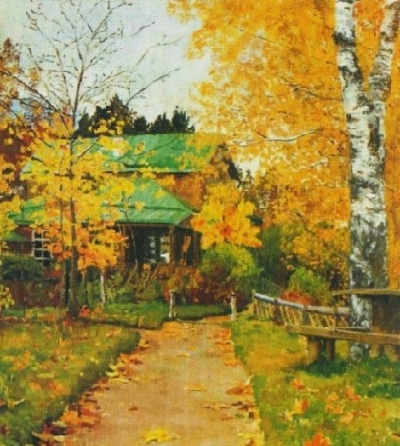 Жуковка. Этюд. (1888). Автор: Н.В. Якунчикова.
