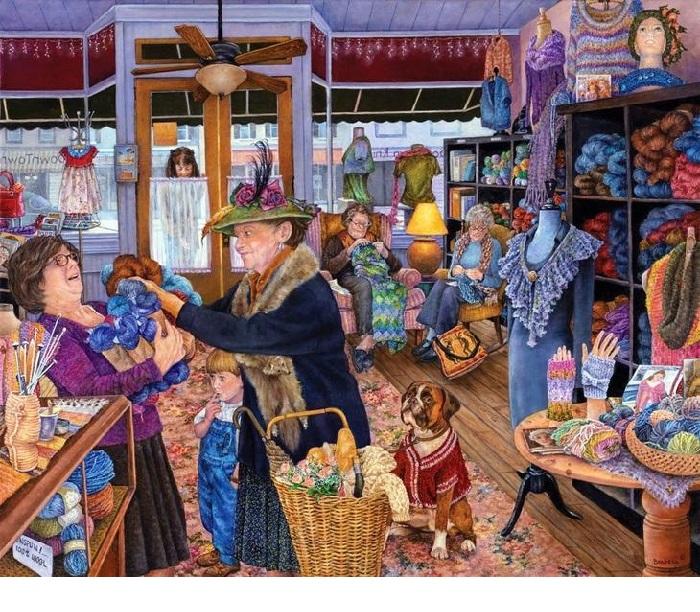 Магазин пряжи. Истории от Сьюзан Брабо.