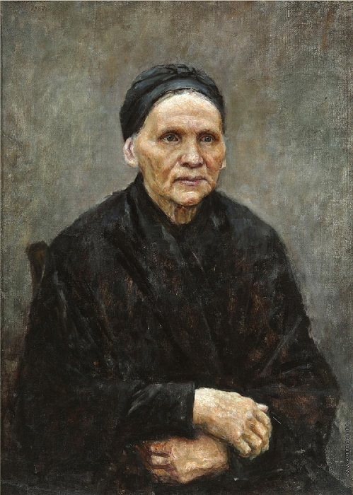 Мать художника. Автор: Василий Суриков.