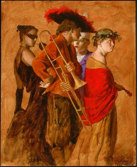 Музыкальный театр.  Дель арте от Kenne Gregoire.