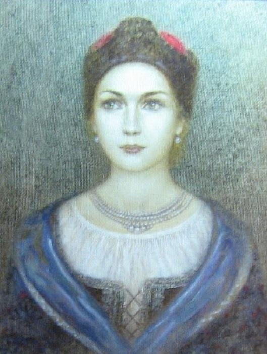 Гелена - вторая жена Богдана Хмельницкого.