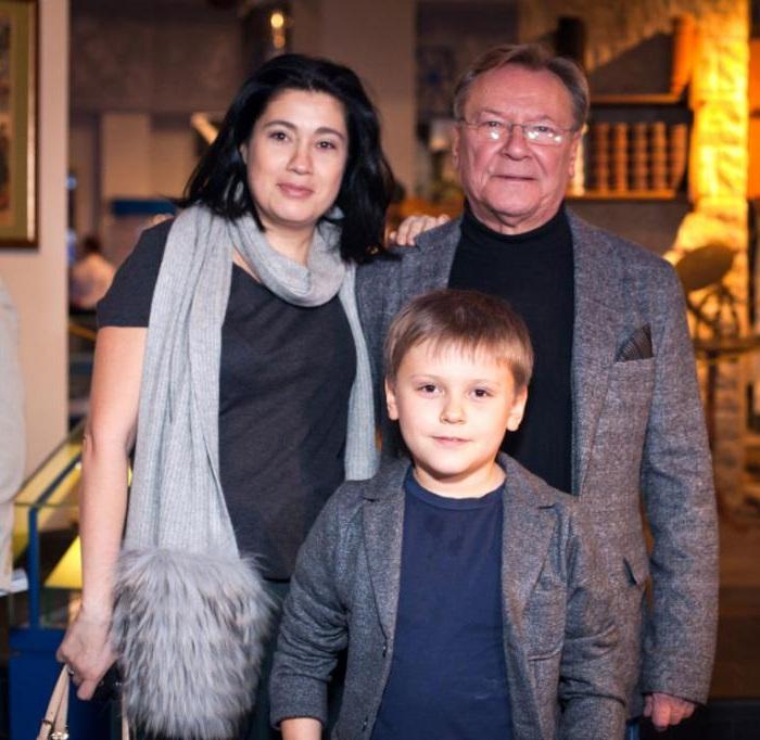 Семья Сергея Шакурова.