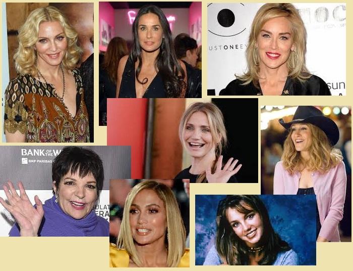 Лауреаты «Золотой малины» разных годов. Премия за худшую женскую роль.