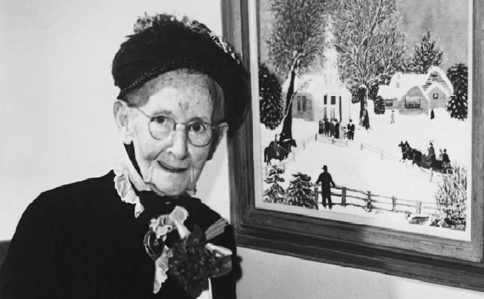 Примитивная живопись от Бабушки Мозес.