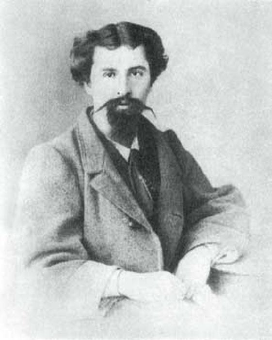 Алексей Михайлович Коровин - отец . 1860-е гг.
