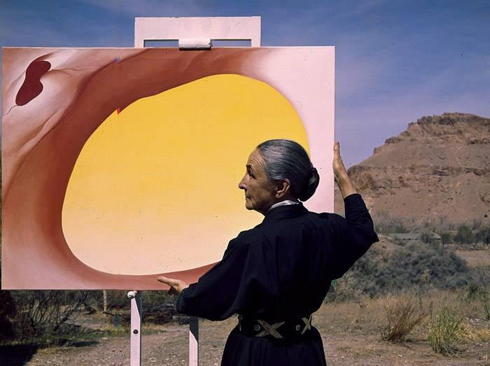 Джорджия О'Кифф (1887–1986) - знаменитая американская художница.