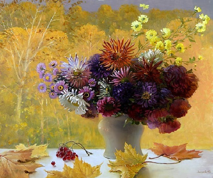 Осень. Автор:  Марина Захарова.