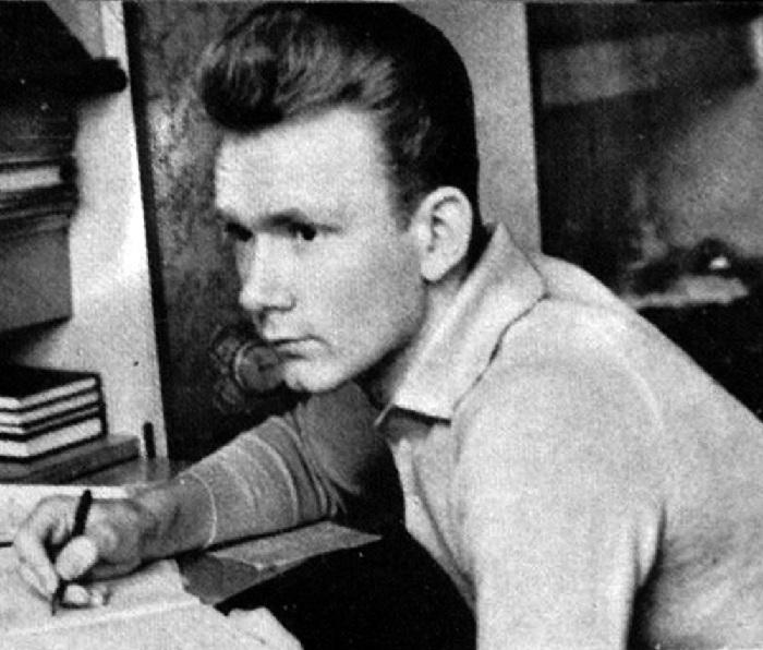 Валерий Лобановский в студенческие годы.
