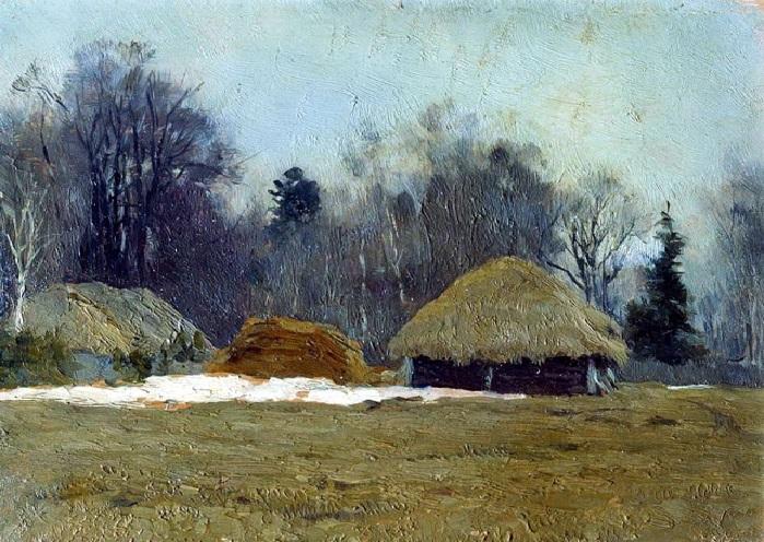 Исаак Левитан. Ранняя весна. 1892 год.