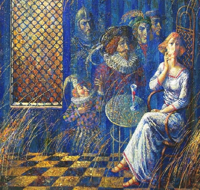 Синяя комната. Автор: Анатолий Концуб.