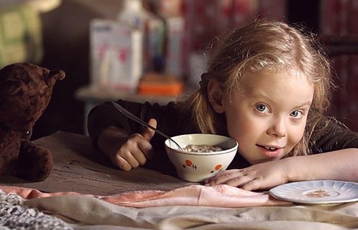 Кадр из кинодрамы «Кука». Настя Добрынина в роли Куки.