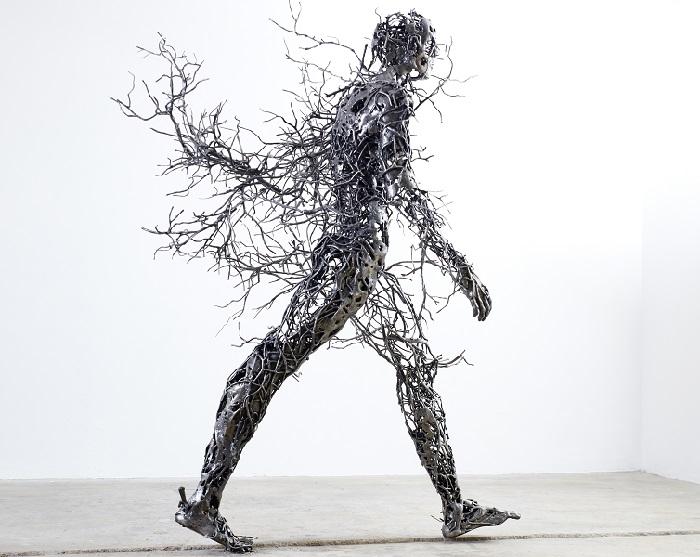 Сюрреалистические скульптуры от Регара ван дер Мюлена.